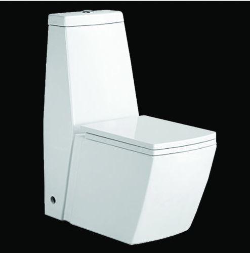 Hervorragend Stand-WC Toilette mit integriertem Spülkasten mit Deckel Nano PD27