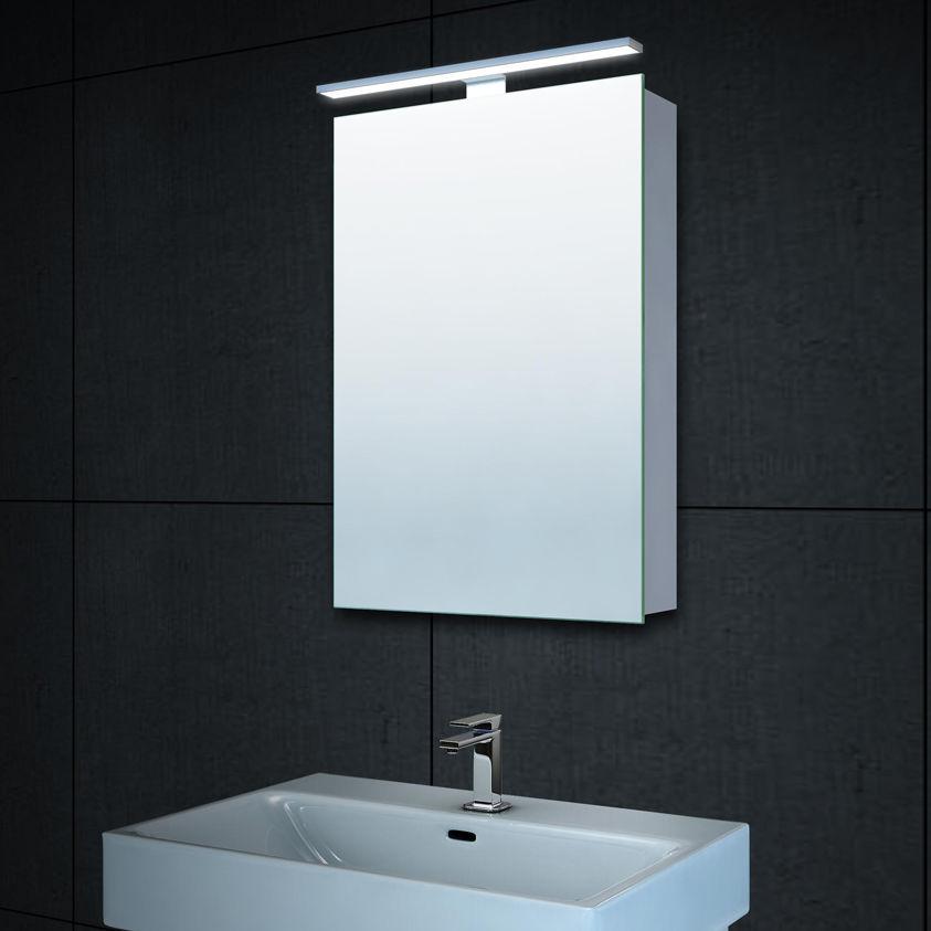 Badschrank Led 40x60cm Badezimmer Spiegel Lichtspiegel