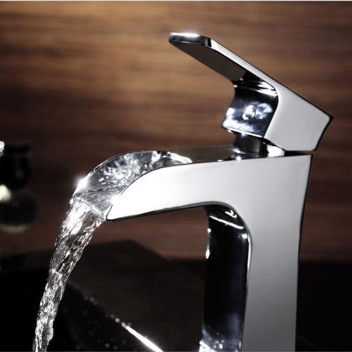Armatur wasserfall tief einhebelmischer verchromt 18cm for Armatur wasserfall