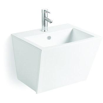 h nge waschbecken waschtrog lavabo keramik 57x48cm. Black Bedroom Furniture Sets. Home Design Ideas